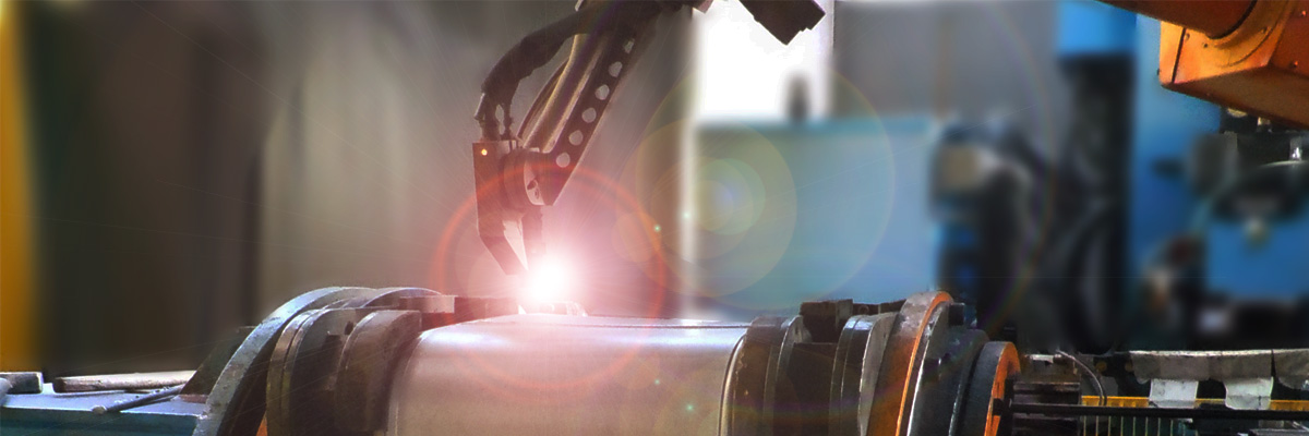 robotic welding oil tank